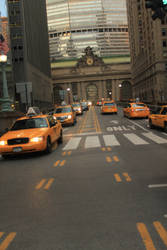 Taxis Of New York by wingsofdragons