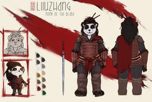 [WoW] Liiuzhang ref sheet CM + Armor design