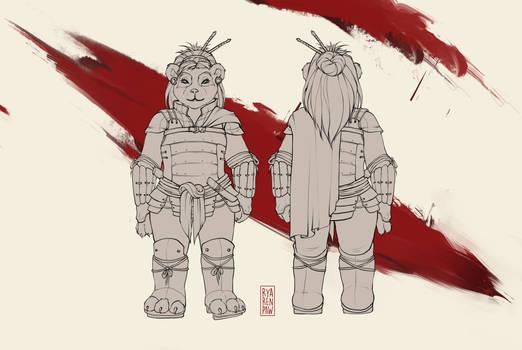 Liiuzhang armor lineart CM plus