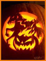 2007 Pumpkin - Heads Up by scottalynch