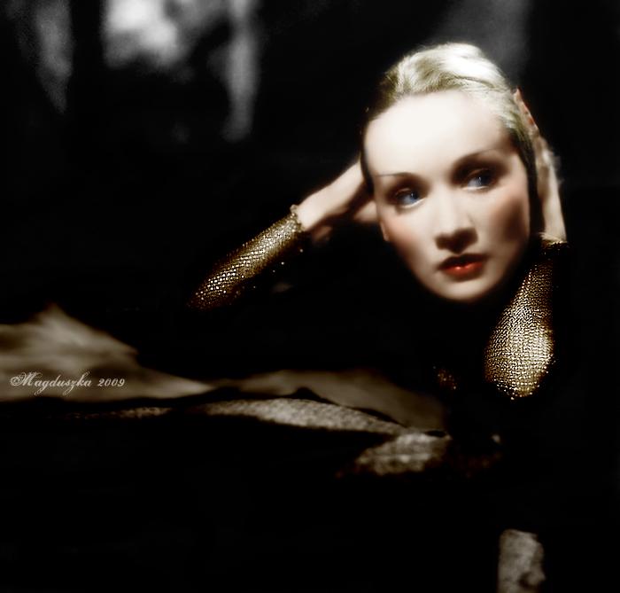 dark Marlene by GuddiPoland