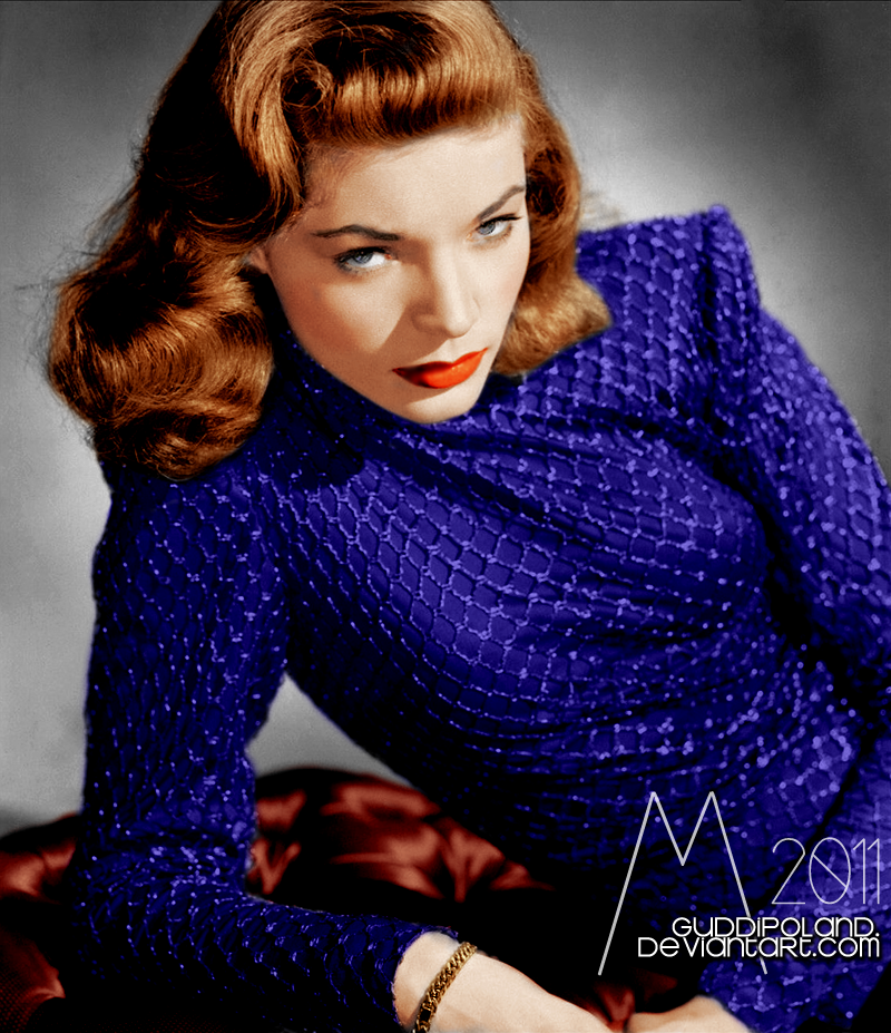 Miss Bacall by GuddiPoland