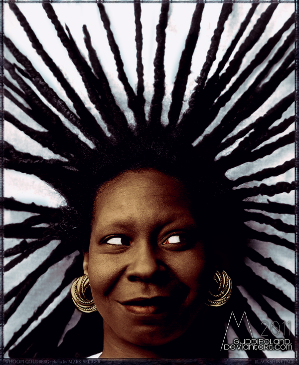 woot woot Whoopi Goldberg by GuddiPoland