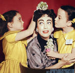 Joan and her twins
