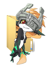 [FREE]Midna TLOZ:TwilightPrincess PageDoll(Folder) by Girl-Zutarian13