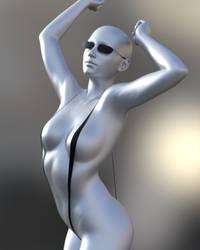 Commission/Request - Slingshot bikini + Shades. by SWTrium