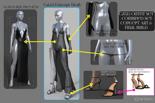 Cata3 CT3 Concept Draft to working 3D build