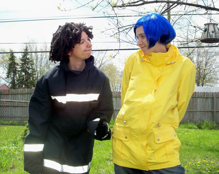 Wybie X Coraline Happy By Blazingbandit On Deviantart