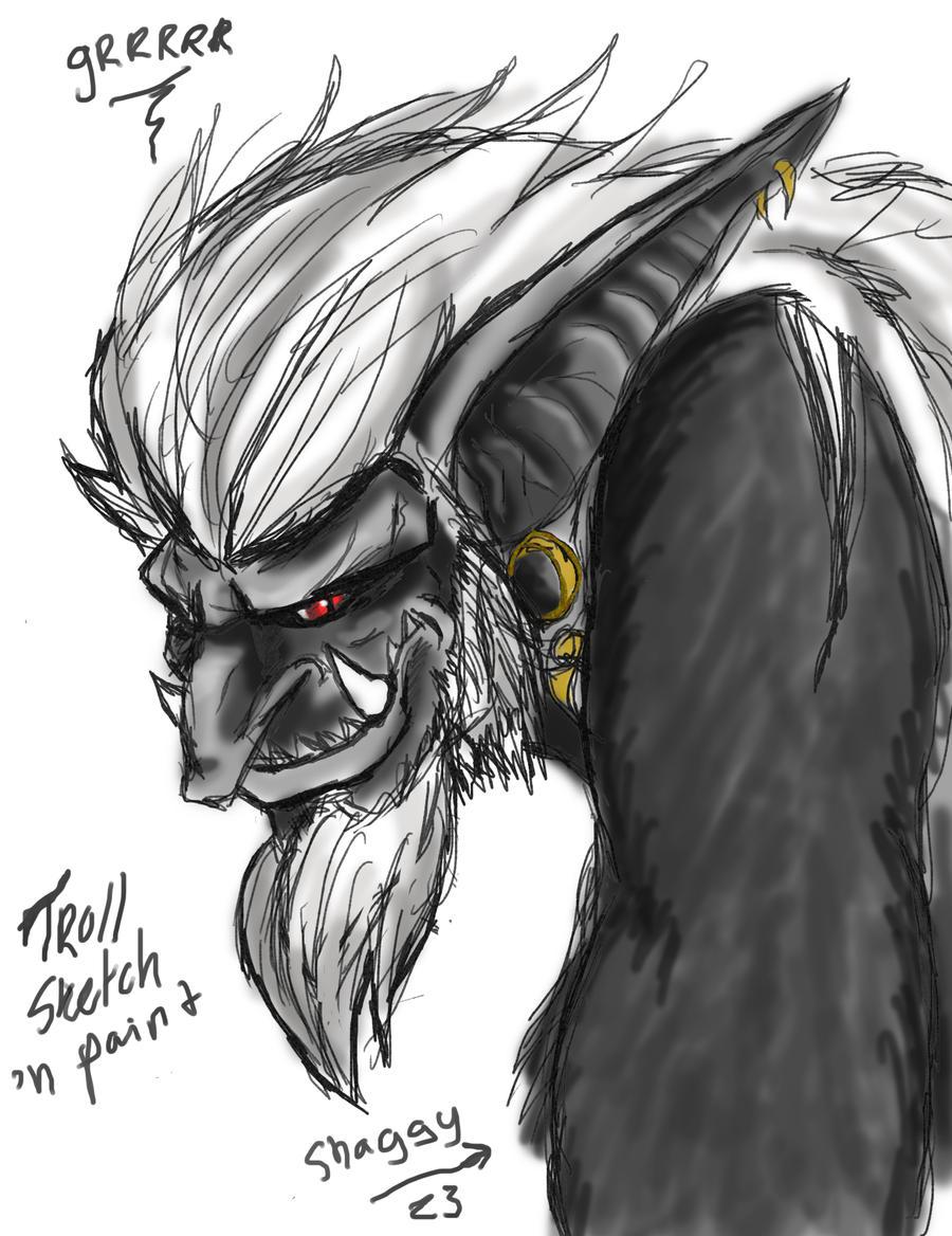 15-minute troll sketch by Trollsngoblins