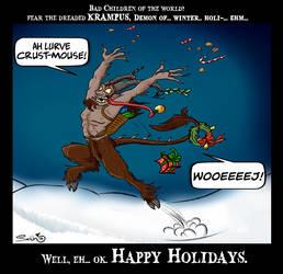 Krampus - Holiday card 2014