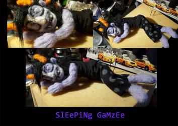 Sleeping Gamzee