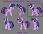 Twilight Sparkle in 3d