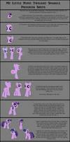 Twilight Sparkle Process