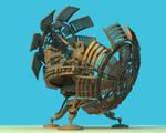 Time Machine Final Render 04