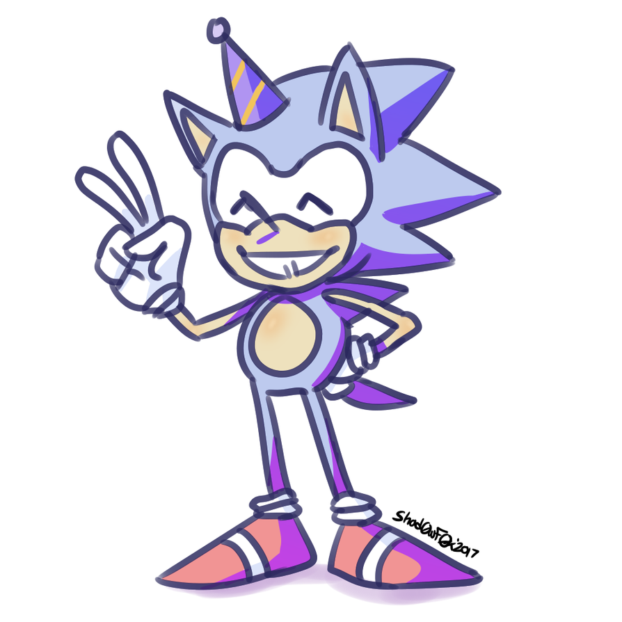 .::Sonic's 26th Birthday::. by TheShad0wF0x