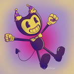 .::Bendy 2nd Anniversary::. by TheShad0wF0x