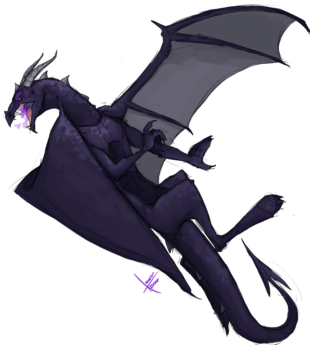 Images of baby ender dragon drawing sc minecraft baby ender dragon drawing ender dragon sketch by ccuart Image collections