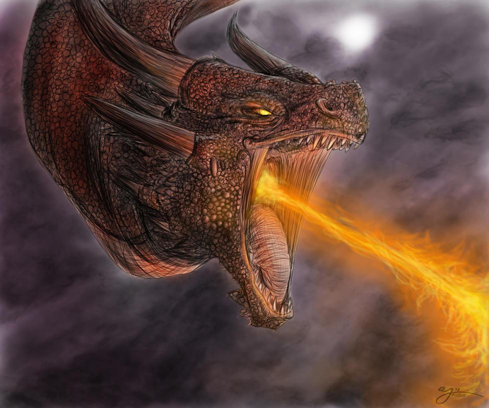 The Fyr Beast by Evalescia