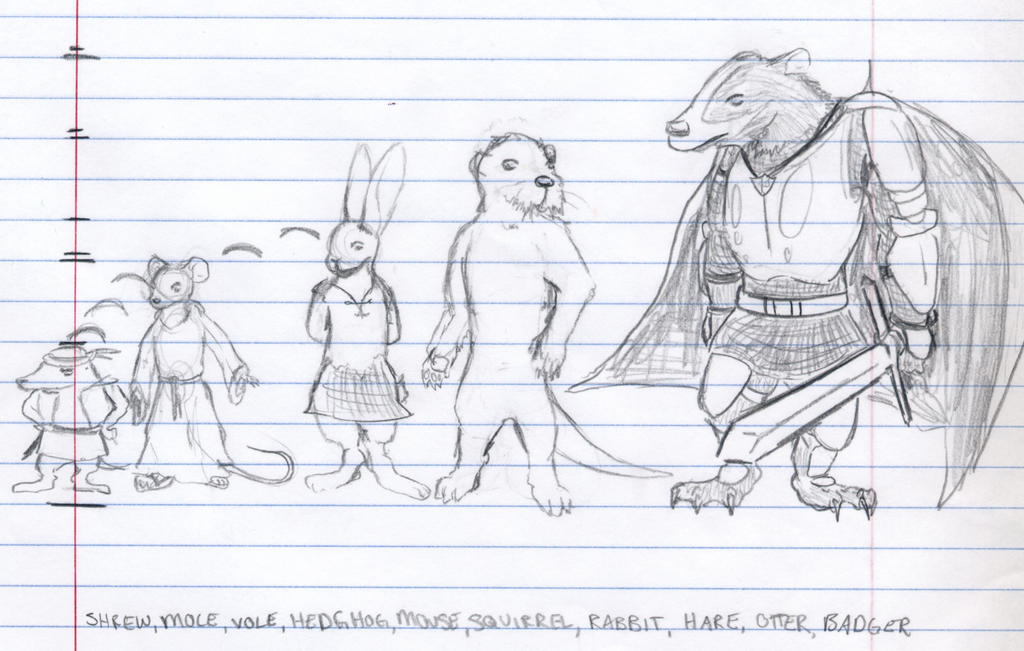 Redwall Height Comparison by Evalescia