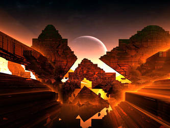 Teotihuacan by FractAlienDesign