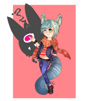 Ryan Commission for -TinyShiro(2/2) by Faw-n