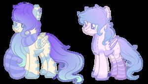 Pastel Pegasus Adopt (CLOSED) by Faw-n