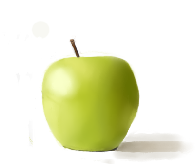 Apple color practice by Killerwolf19
