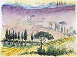tuscany sketch