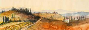 tuscany sketch II
