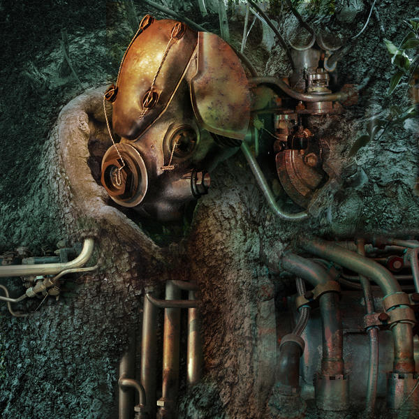 botanical mechanoid by indojo