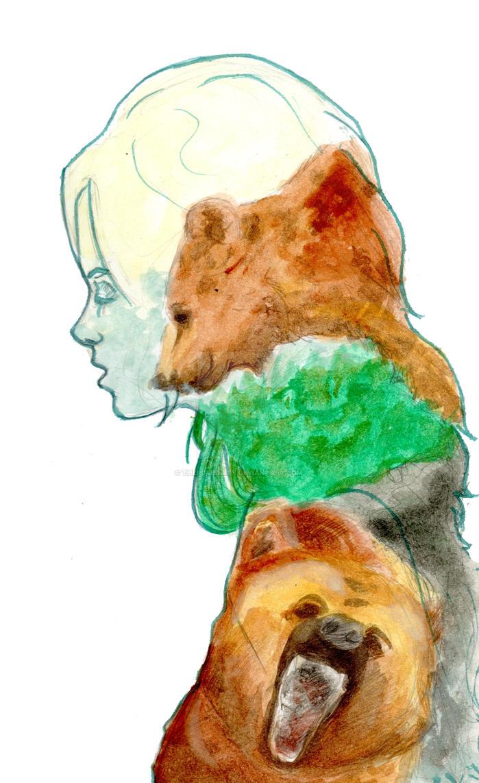 Bear spirit 2 by Thepuredirty