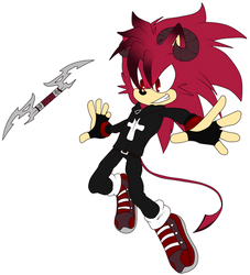 [Sonic OC] Demon The Hedgehog