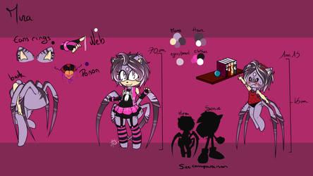 [Sonic OC] Mira The Spiderhog