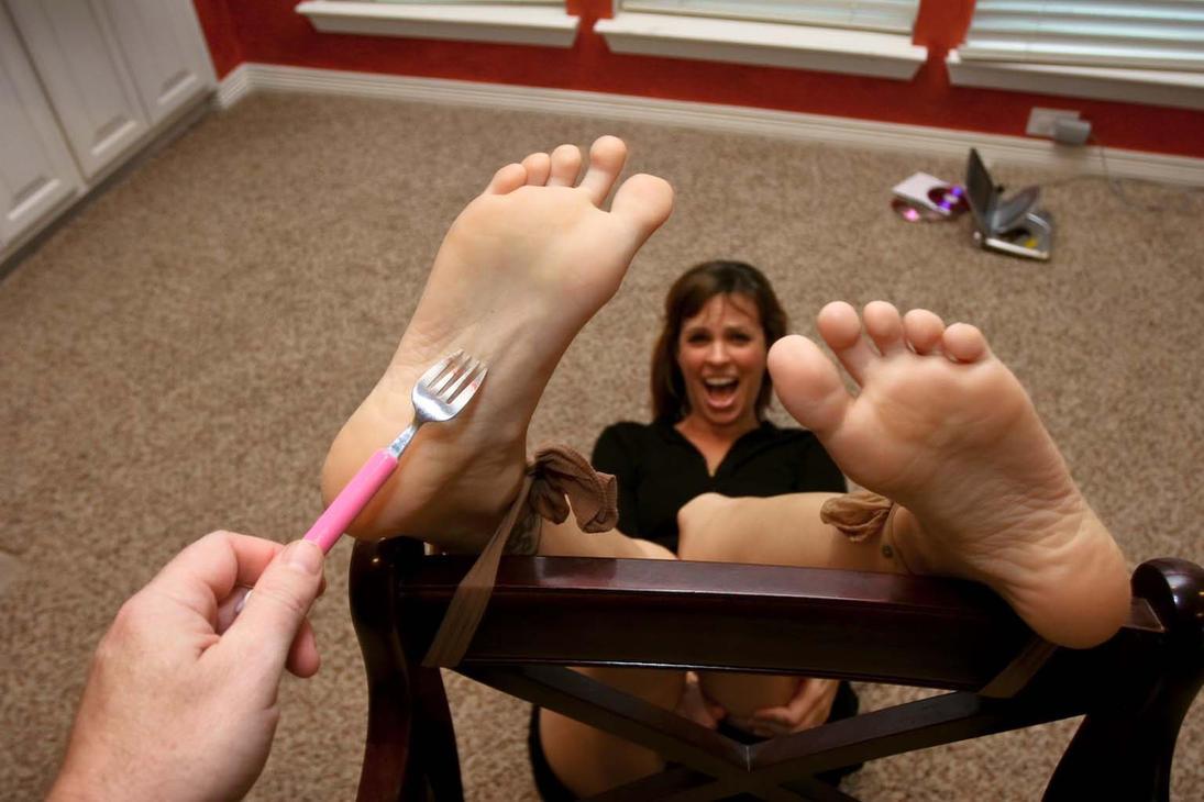 Teen Girls Feet Tickled