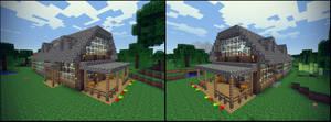 Minecraft 1.8 House