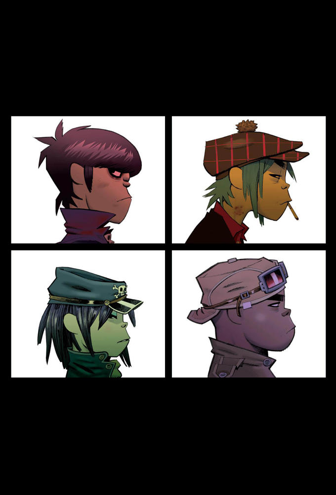 Gorillaz Demon Days Iphone Wallpaper By Caboose6789 On
