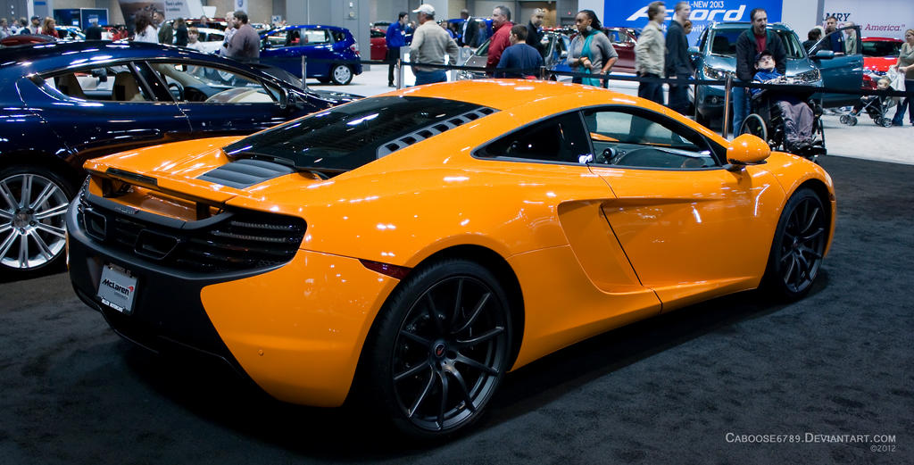 mclaren mp4 12c ct international auto show 2012 by. Black Bedroom Furniture Sets. Home Design Ideas