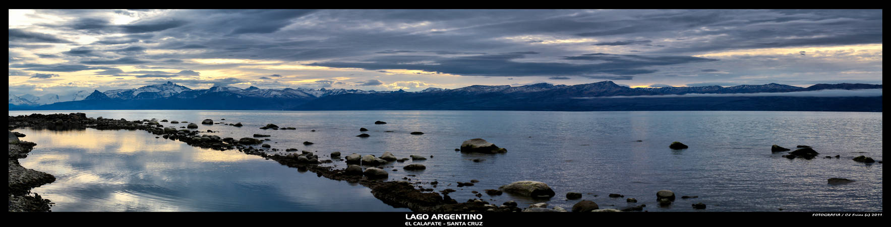 Panoramica Lago Argentino by yocar