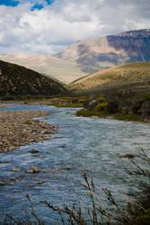 Mountain River by yocar
