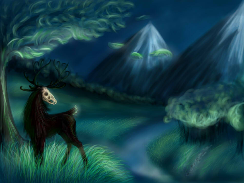 look, I still don't know how to draw landscapes! by NataSemachka