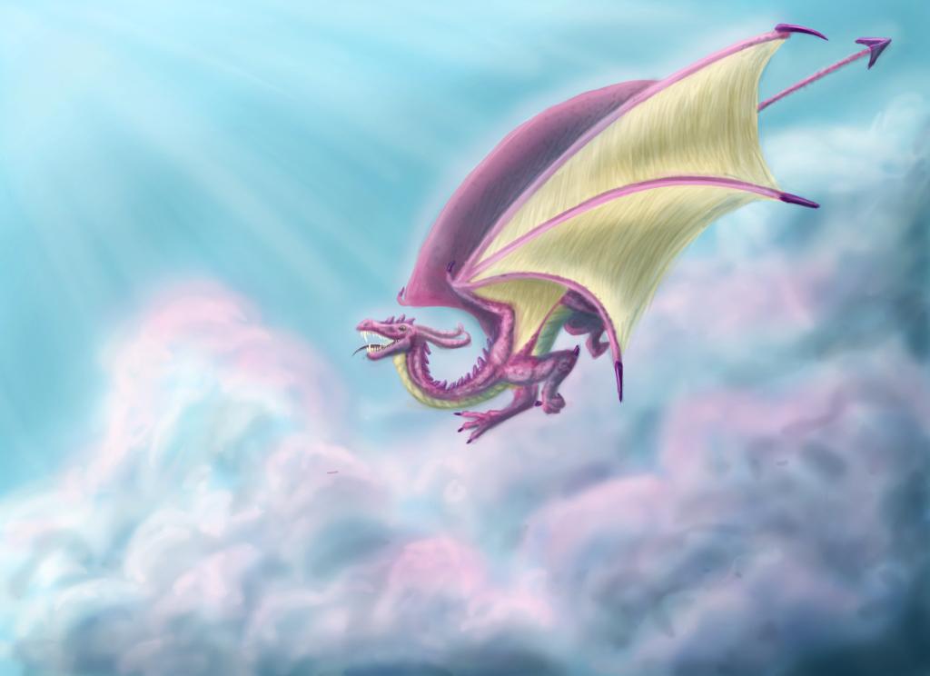reDraw - Melnica - the dragon by NataSemachka