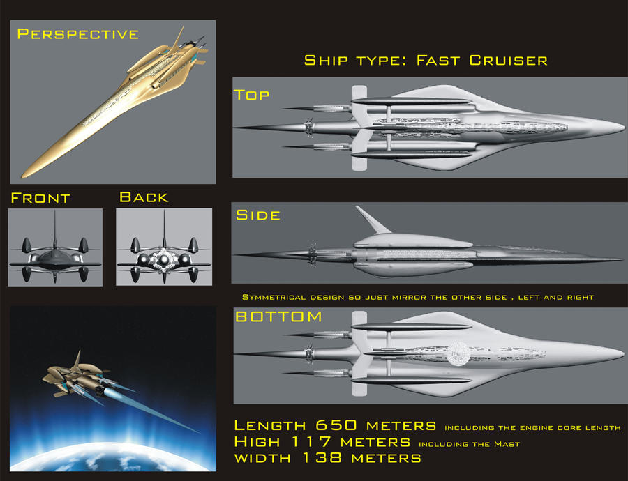 Ship 1 EVE Online Contest by synersignart