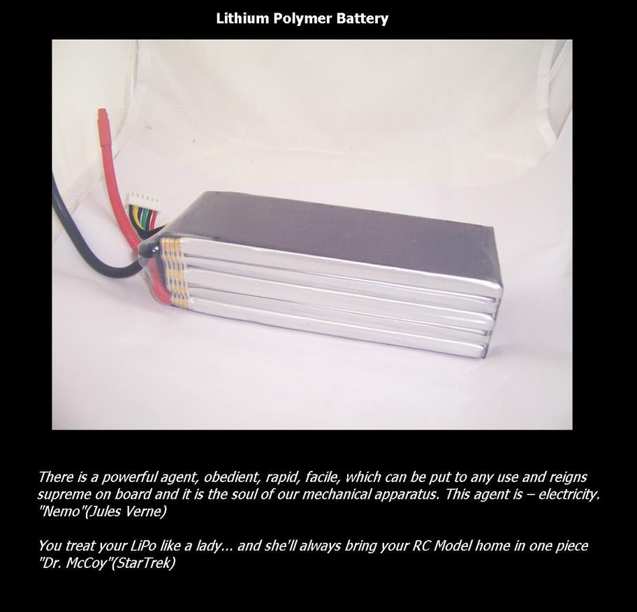 Lipo battery by synersignart