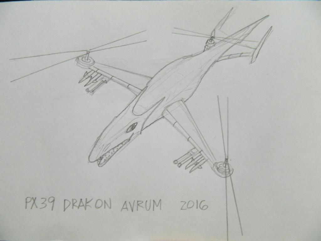 PX39 Drakon Avrum by synersignart