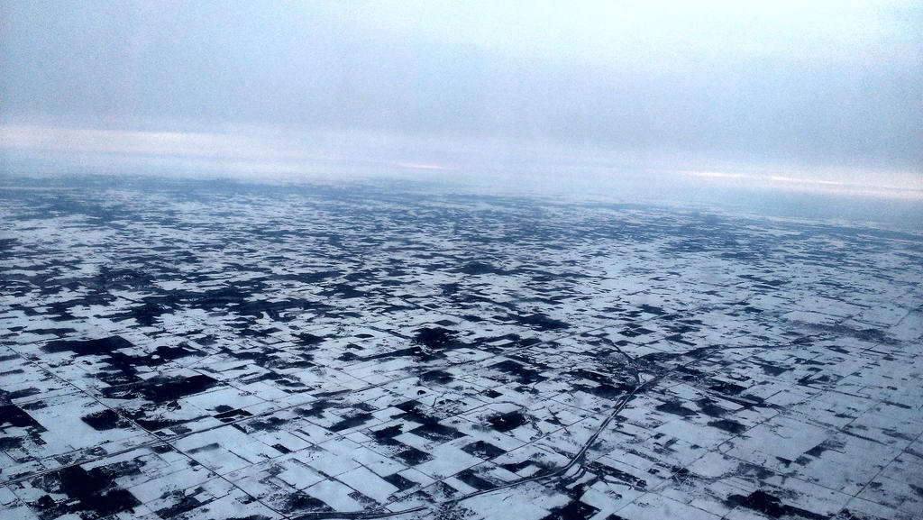 Winter From Above by Smidow