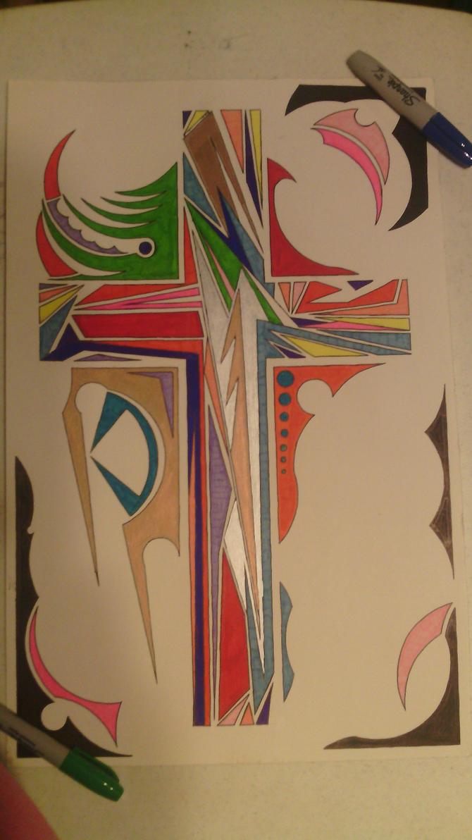 Boho Cross by Apolyon07