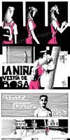 La Nina Vestia de Rosa by Gigabeto