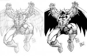 Batman Inked by Gigabeto