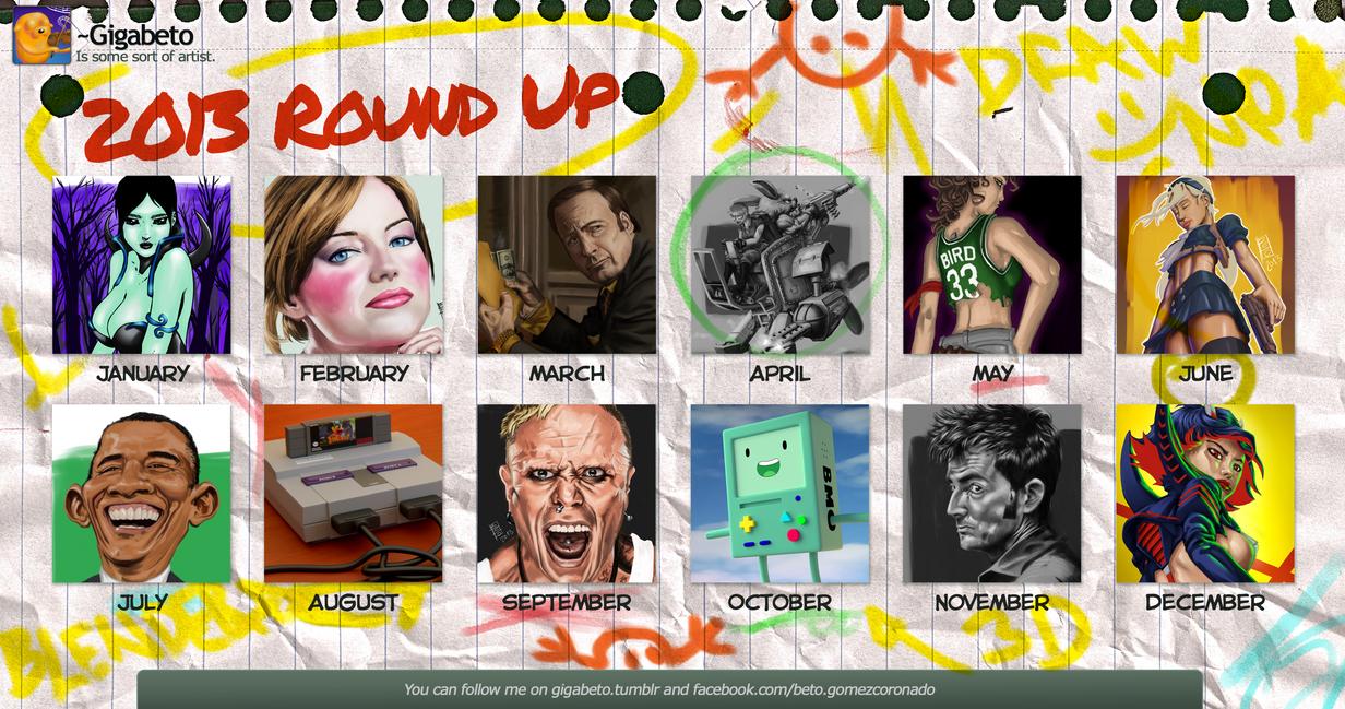2013 round up by Gigabeto