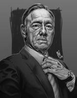 Francis Underwood - House Of Cards by Gigabeto